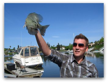 How To Catch Crappie Big Slab Caught By A Young Man