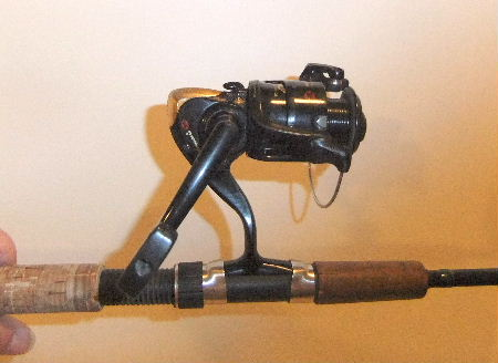 Shakepeare Intrepid Graphite Rod and Spinning Reel