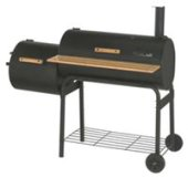 BBQ Grill for Smoking Fish, meat and other food on a barbecue