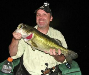 Night bass fishing tips and strategies for big largemouth bass for Night bass fishing