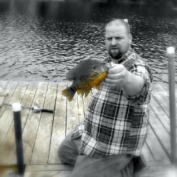 bluegill private pond Wisconsin