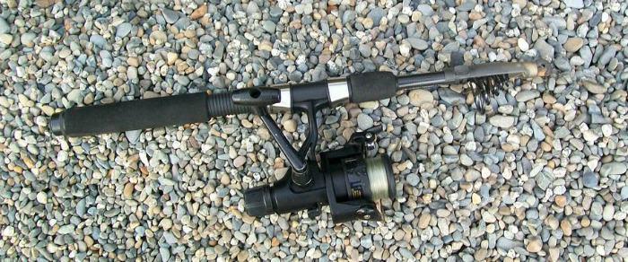 Collapsible fishing rod telescopic fishing poles for Collapsible fishing pole