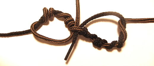 Tying the Blood Fishing Knot