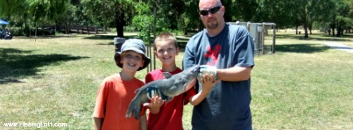 Oak Grove Park Catfish Derby Winner