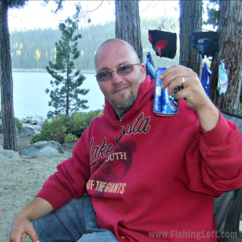 Drinking Beer, Camping and Fishing