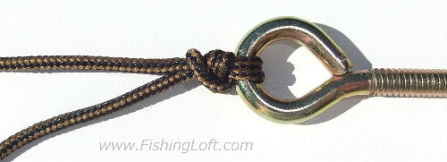 Picture of the Palomar Knot Tying Instructions