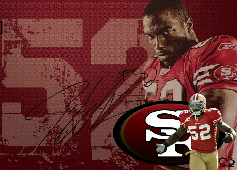 Patrick Willis wallpaper - retired 49er and gone fishing