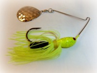 Spinnerbait With Colorado Blade For Largemouth Bass