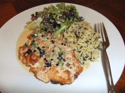 Pan Fried Tilapia Fillet with Firecracker Sauce