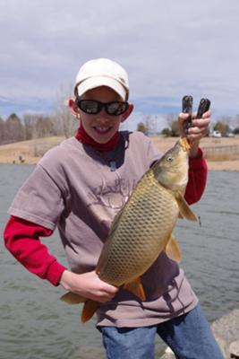 A carp with a story for Fishing lakes in colorado springs