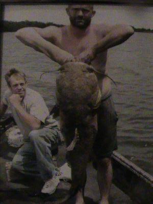 Giant 55 Pound Flathead Catfish