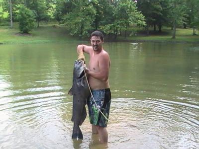 52 Pound Blue Catfish