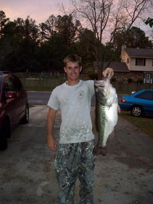 The Monster Largemouth Bass, 11 lbs 2 oz