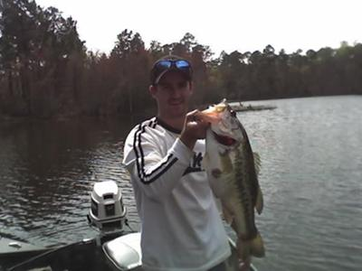 8 lbs 6 oz Largemouth Bass
