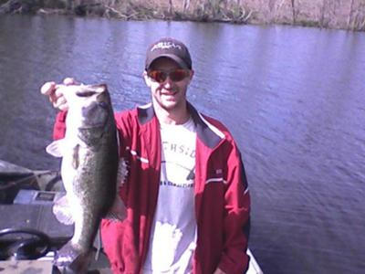 9 lbs 2 oz Largemouth Bass