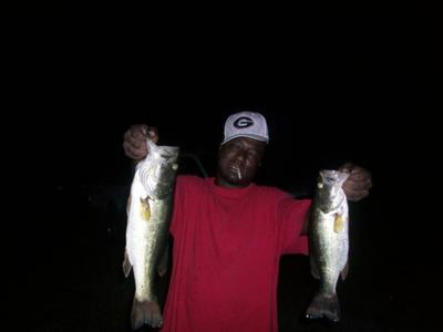A Couple of Largemouth Bass by The Bassmaster
