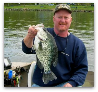 State record crappie for New Jersey - photo credit by NJDEP