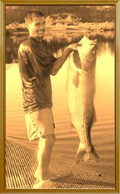 Going Retro on the American River (Striper King)