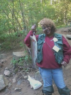 Wissahickon Creek Monster Rainbow Trout
