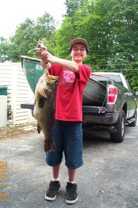 8 Pound Largemouth Bass