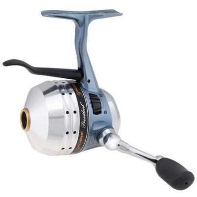 Pflueger offers two undermount spincast reels the 5 for Push button fishing reel