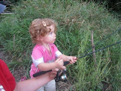 Prairie the little fisherwoman