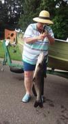 20 lb Catfish on a Zebco 33