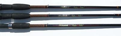 3 Shakespeare Ugly Stik Rods