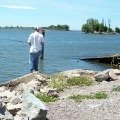 Bank Fishing For Big Largemouth Bass
