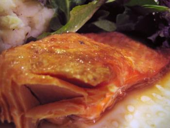 baked trout with ginger and soy sauce
