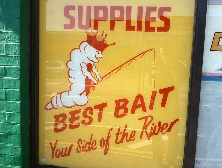 Best Bait Sign