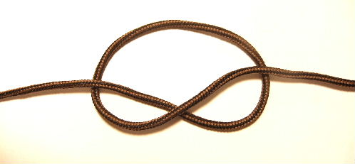 Make a Loop to Begin Tying The Fishing Knot