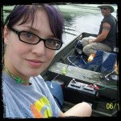 Father and Daughter Time while Fishing on their Boat