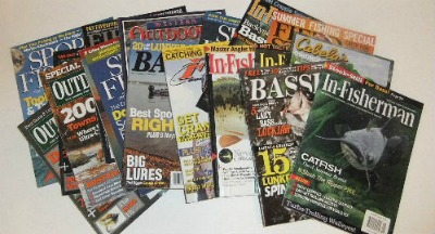 Freshwater Fishing Magazines and Saltwater Sport Fishing Magazine Subscriptions