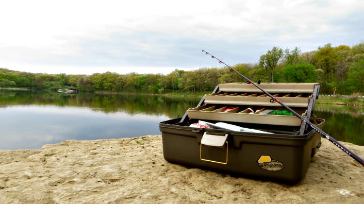 3 Tray Small/Medium sized Plano Tackle Box