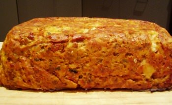 baked salmon fish loaf