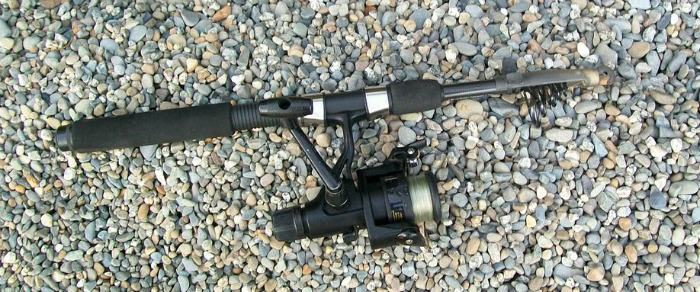 Collapsible Telescopic Travel Fishing Rod - phot credit by Tele Rod Man