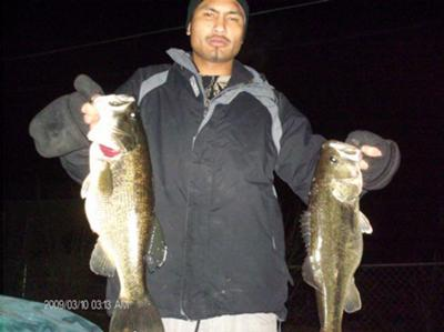 Got the hands full of black bass