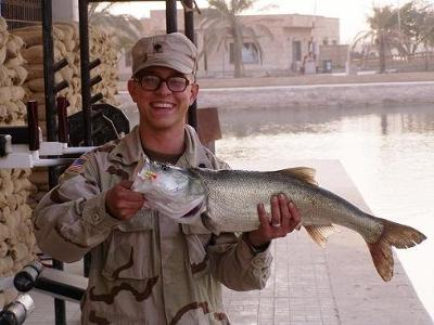 Asp Fish Caught In Baghdad, Iraq