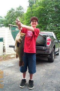 8 Pound Largemouth Bass